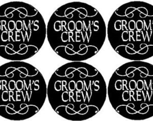 Groom's Crew Badge (10 pcs)