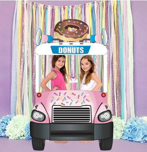 Donut Shoppe Truck Photo Booth Prop