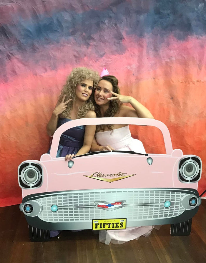 1950's Giant Car Photo booth Backdrop