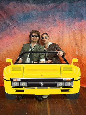 1990's Yellow Ferrari Photo booth