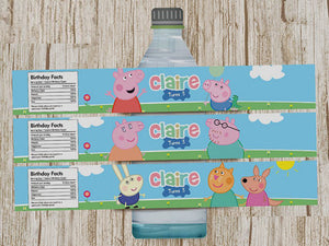 Peppa Pig Bottle Wrappers x 20