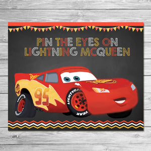 Pin the Lightning on McQueen