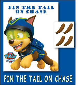 Pin The Tail on Chase
