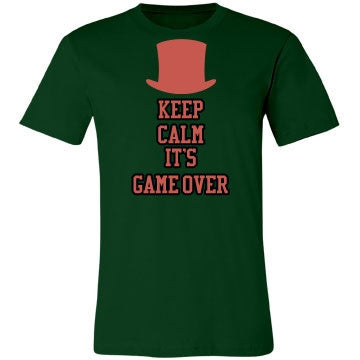 Keep Calm It's Game Over Tee