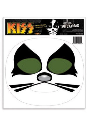 KISS CATMAN HALLOWEEN MAKE UP