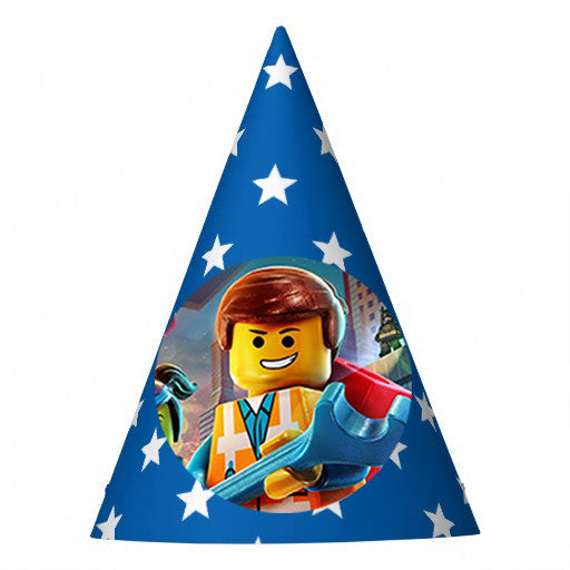 Lego Birthday Party Hat (10 pcs)