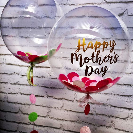 Mother's Day Message Balloon