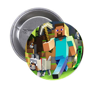 Minecraft Badge (10 pcs)