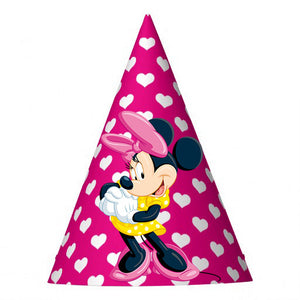 Minnie Party Hat (10 pcs)