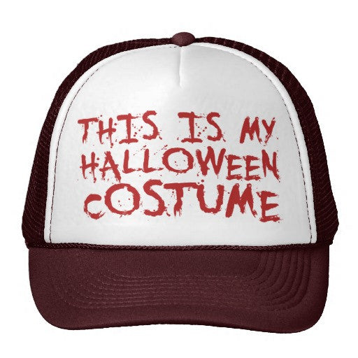 My Halloween Costume Trucker Hat