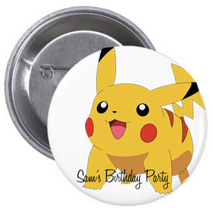 Pikachu Badge (10 pcs)