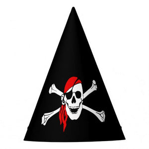Pirate Party Hat (10 pcs)