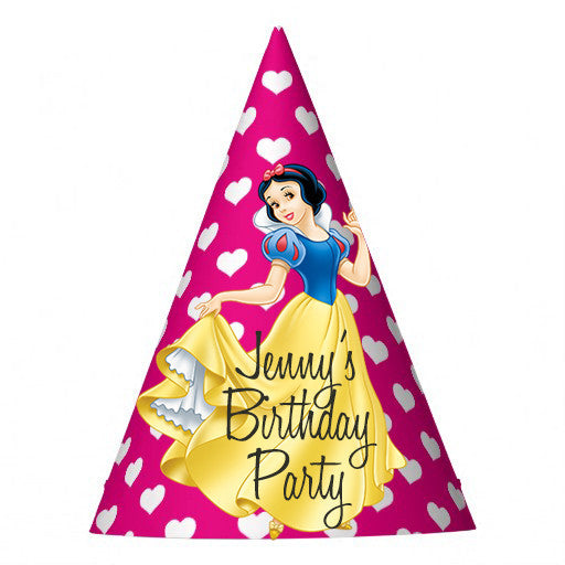 668282b241c Customized Snow White Party Hat – MATTEO PARTY