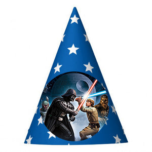 Star Wars Birthday Party Hat (10 pcs)