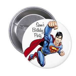 Customized Superhero Badge (10 pcs)
