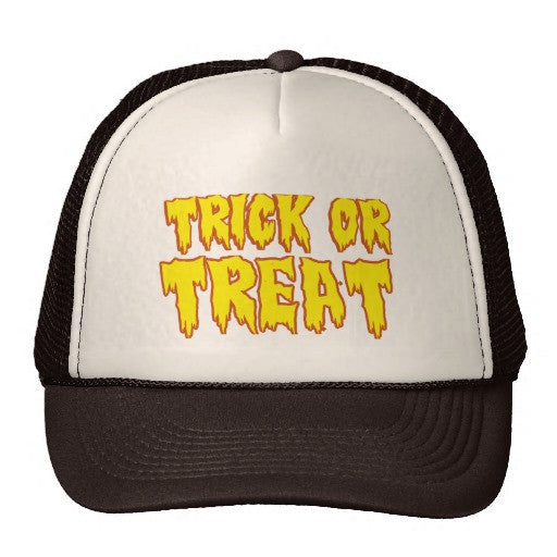 Trick Or Treat Trucker Hat