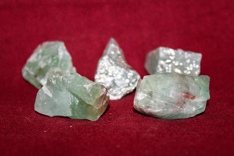 Raw Green Calcite Crystal