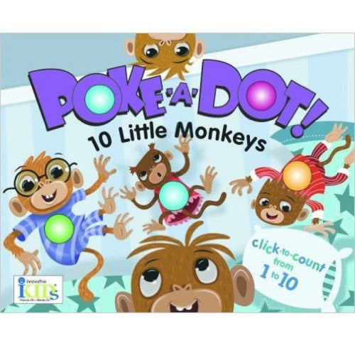 Poke-A-Dot : 10 Little Monkeys