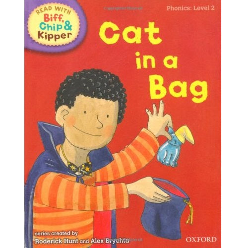 Biff Chip Kipper: Cat in a Bag (P: Level 2)