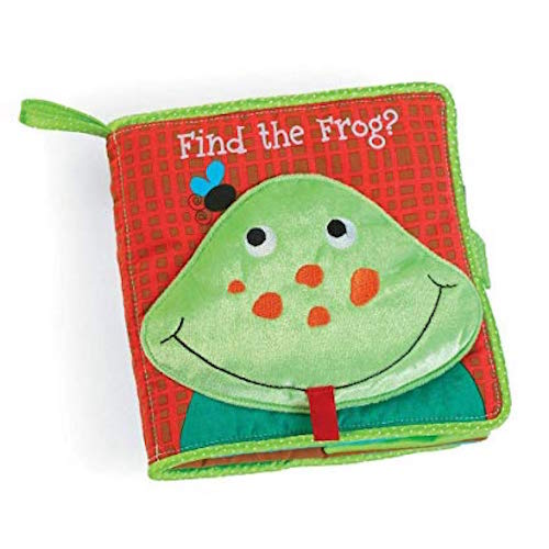 MT Find the Frog Soft Book