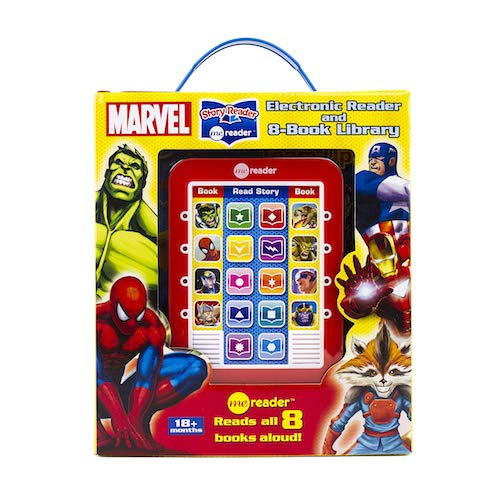 Marvel: 8-Book Library and Electronic Reader [Me Reader]