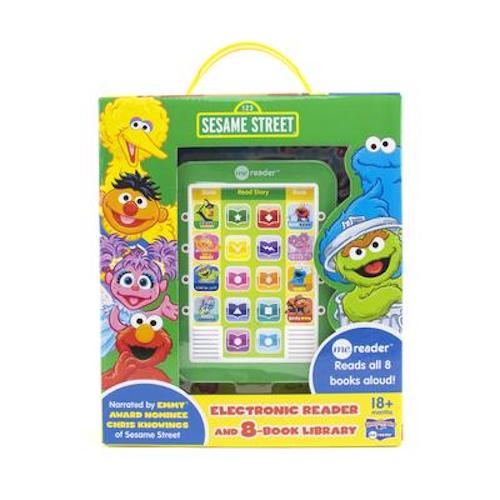 Sesame Street Me Reader 8-Book Library Box Set