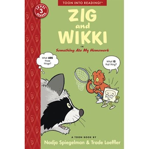 Zig and Wikki in Something Ate My Homework (TOON Level 3)(Paperback)