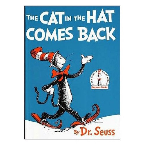The Cat in the Hat Comes Back (Dr. Suess 20bks Hardcover)