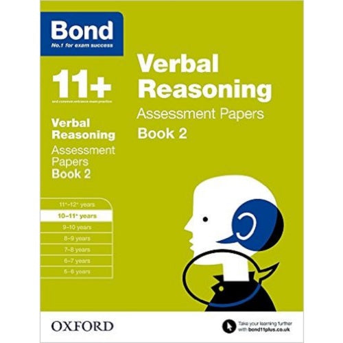 Bond Verbal Reasoning Assessment Papers 10-11+ Yea
