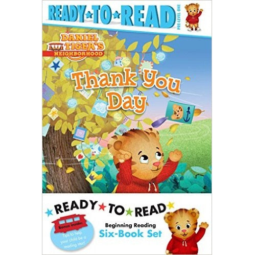 Daniel Tiger Ready-To-Read Value Pack: Thank You Day; Friends Help Each Other; Daniel Plays Ball; Daniel Goes Out for Dinner; Daniel Feels Left Out; D