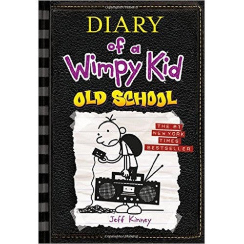 Diary Of A Wimpy Kid Book: Old School