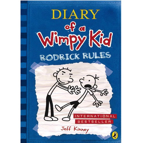 Diary Of A Wimpy Kid Book: Rodrick Rules