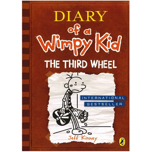 Diary Of A Wimpy Kid Book: Third Wheel