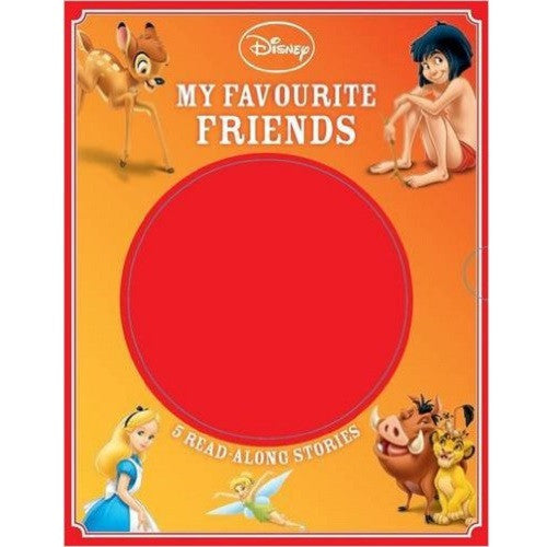 Disney My Favourite Friends 5 Books Box Set With C