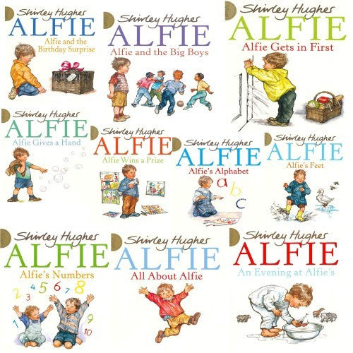 Alfie Collection 10 Books Set