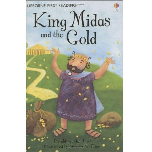 King Midas and The Gold (First Reading level One)
