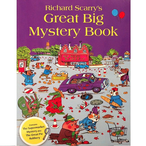 Richard Scarry - Great Big Mystery Book