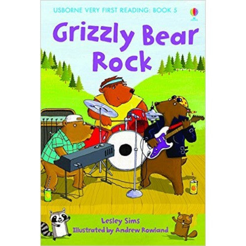 Grizzly Bear Rock (Very First Reading)