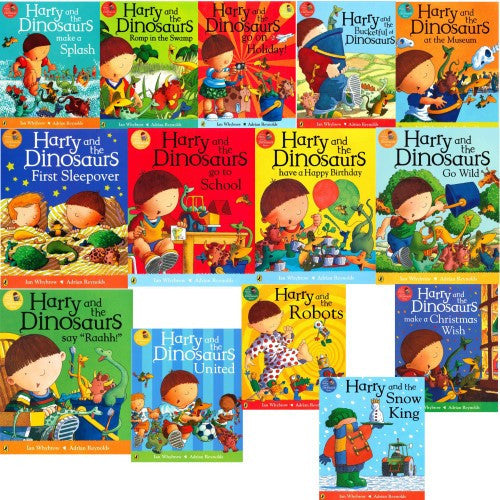 Harry And The Bucketful Of Dinosaurs 14 Roaring Good Stories Books Set