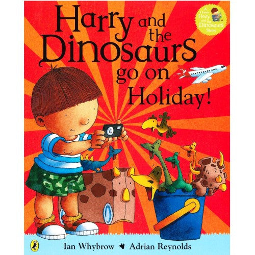 Harry And The Dinosaurs Go On Holidays