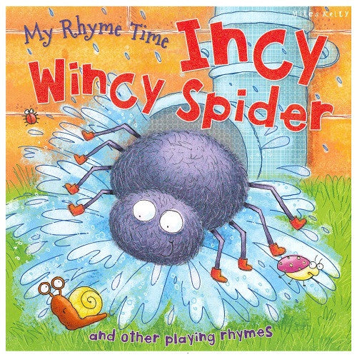 Incy Wincy Spider (Nursery Rhymes)