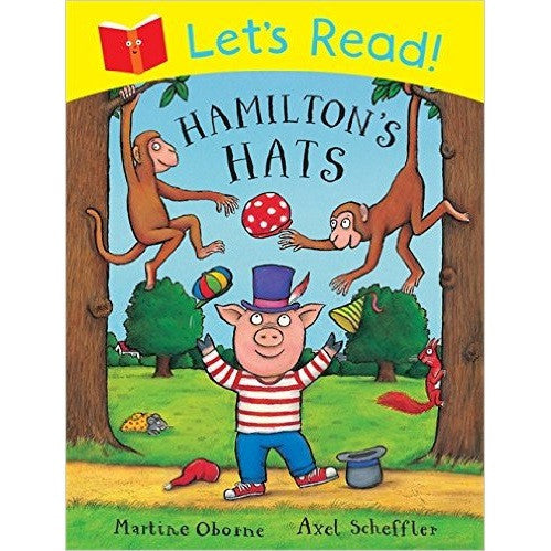 Let's Read!: Hamilton's Hat