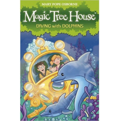 Magic Tree House: Diving with Dolphins