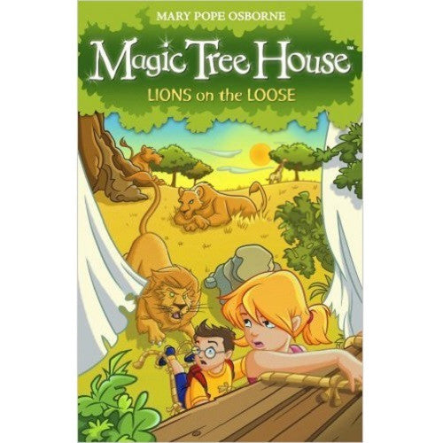 Magic Tree House: Lion's on the loose