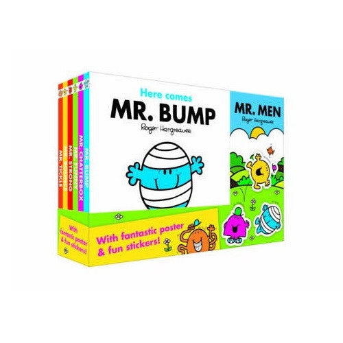 Mr Men 6 Board Books Collection