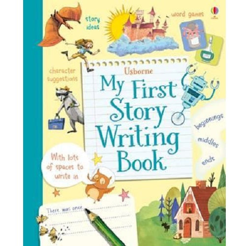 My First Story Writing Book – My Little J