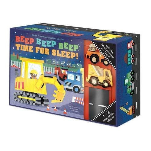 Beep Beep Beep: My First Road set book & toy