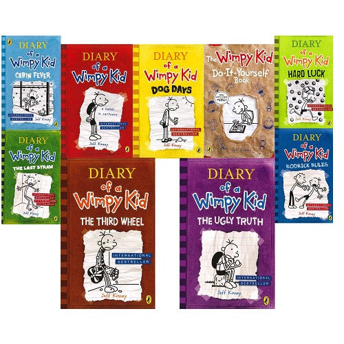 New diary of a wimpy kid 9 book collection my little j new diary of a wimpy kid 9 book collection solutioingenieria Image collections
