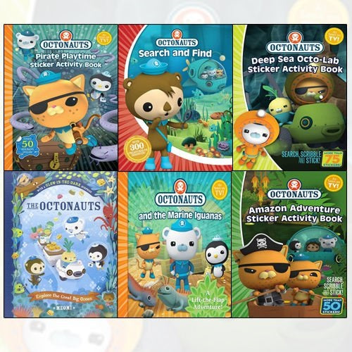 Octonauts: Amazon Adventure Sticker Book