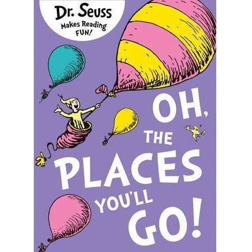 Oh the Places You'll Go (PB-12-Bookset)